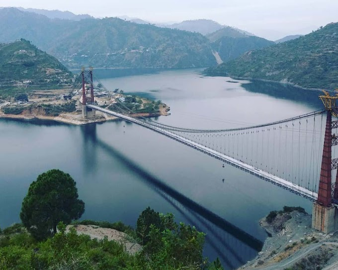 Dobra Chanthi Bridge – उत्तराखंड की टिहरी झील पर बना भारत का सबसे लम्बा सस्पेंसन व्रिज