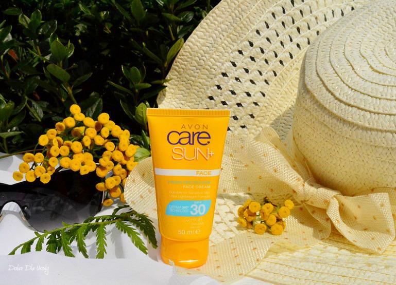 Avon Care Sun+ Wodoodporny Krem nawilżająco-ochronny do twarzy SPF 30 - recenzja