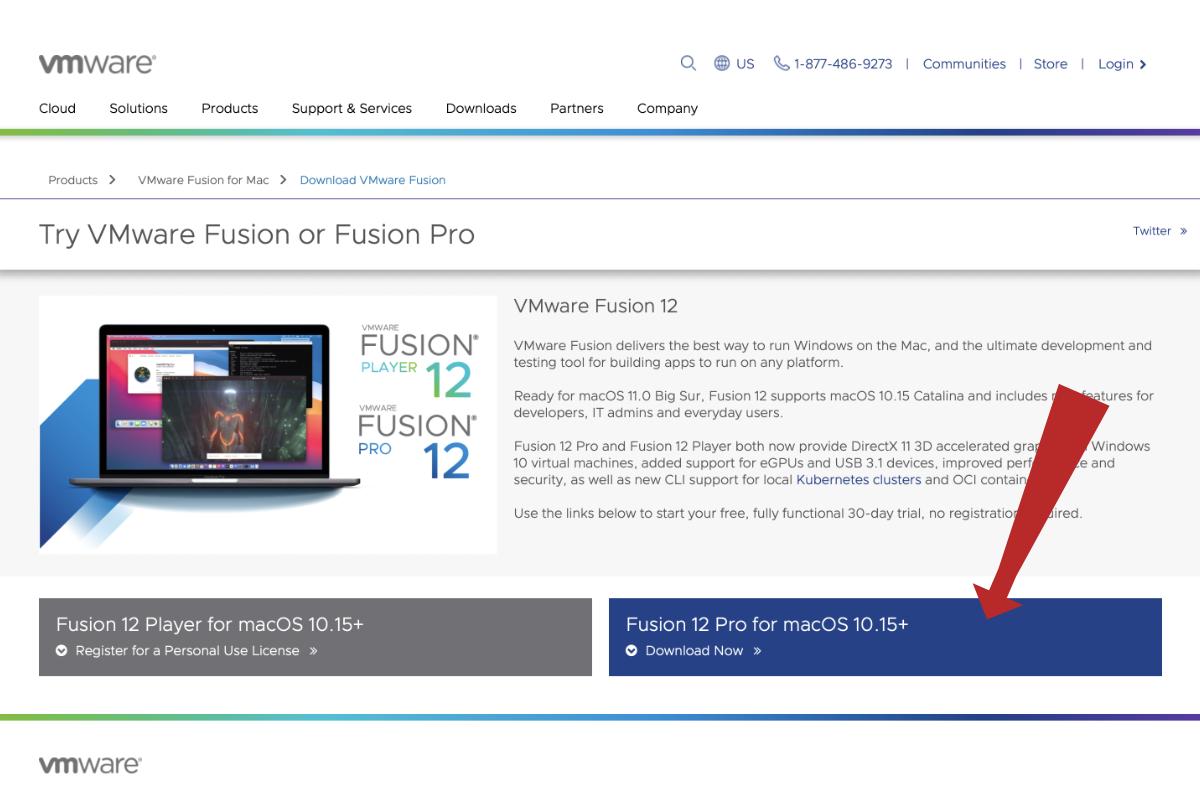 Dove scaricare VMware Fusion
