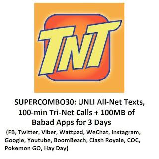 TNT SC30 or SUPER COMBO 30