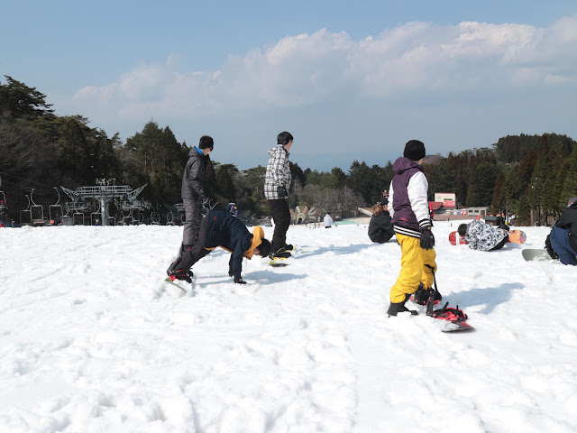 Ski/Snowboard at Rokko Snow Park
