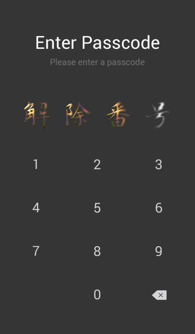 Samurai style theme