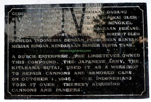 Sejarah gedung lindeteves di surabaya