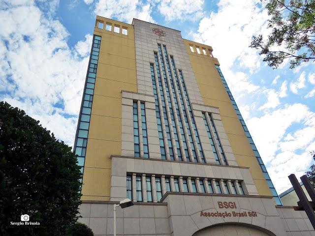 Vista ampla da Associação Brasil SGI - Centro Cultural Dr. Daisaku Ikeda - Liberdade - São Paulo