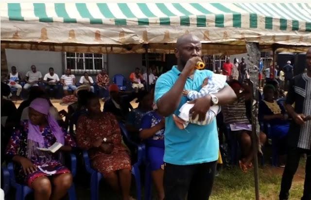 See Photos Of Innocent 1-Month-Old Baby Serving Prison Sentence With Mother
