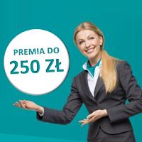 Premia 250 zł za konto w Credit Agricole