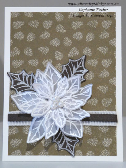 #thecraftythinker #stampinup #christmascard #xmascard #cardmaking #poinsettiapetals , Poinsettia Petals Bundle, Stampin' Up Demonstrator, Stephanie Fischer, Sydney NSW