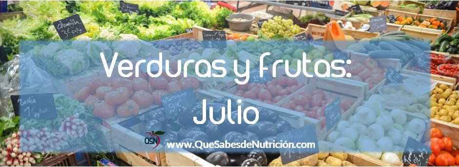 QSN: Verduras y frutas de junio