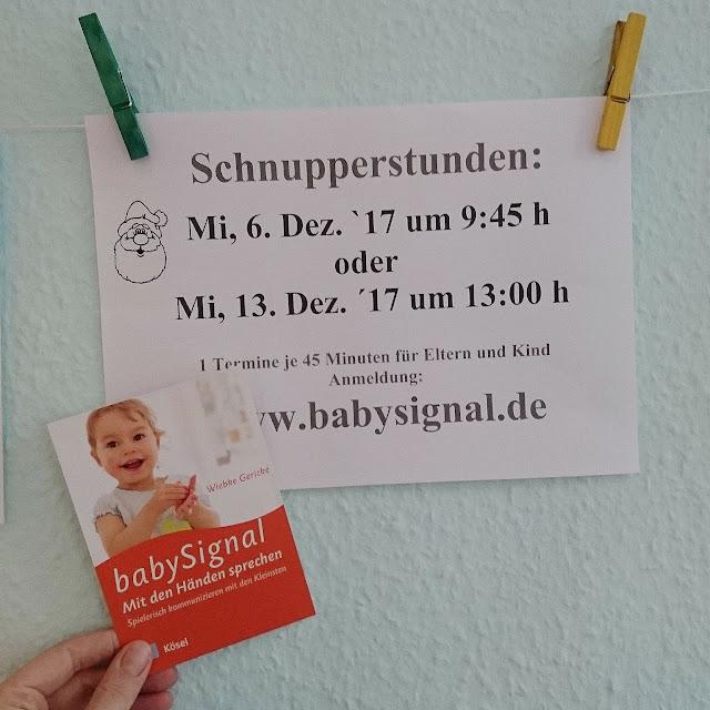 Schnupperkurs Babygebärden