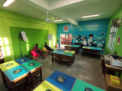 Make over bilik Digital Hub PAK21 oleh MDEC