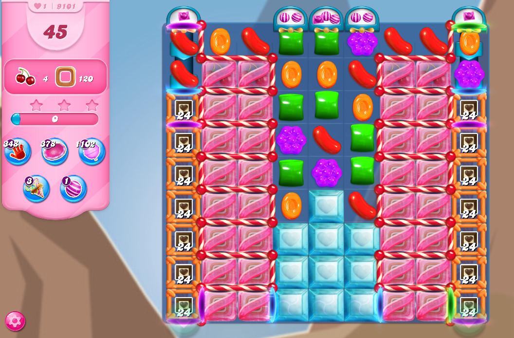 Candy Crush Saga level 9101