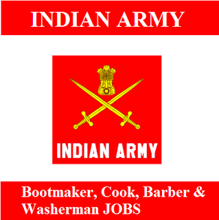 Indian Army, Force, 10th, Jharkhand, Bootmaker, Cook, Barber, Washerman, 10th, freejobalert, Sarkari Naukri, Latest Jobs, indian army logo