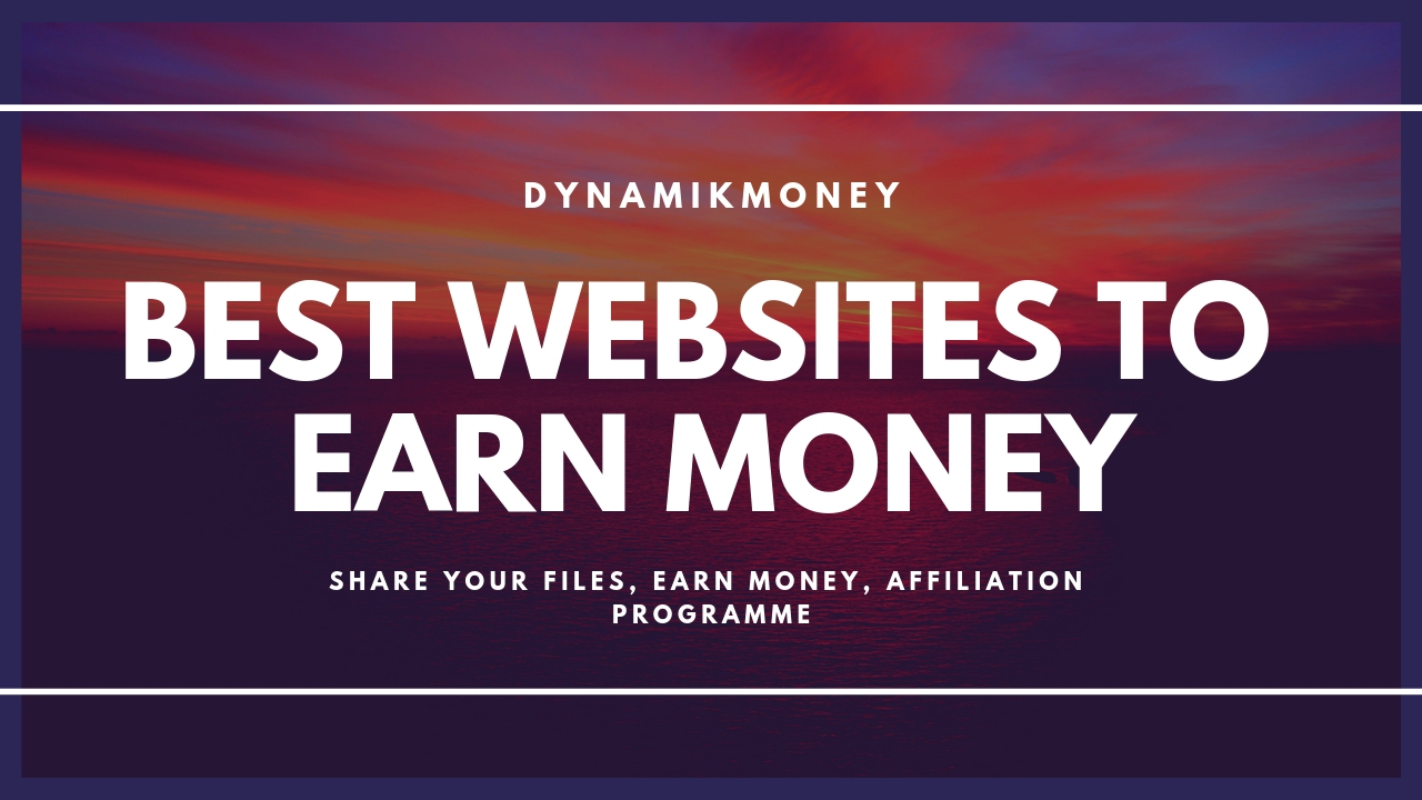best websites to earn money by sharing files
