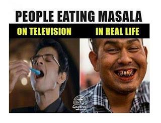 TV vs Reality Funny Photos in Hindi