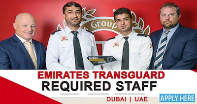 Emirates Transguard Jobs In Dubai
