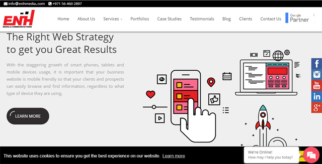 ENH - Digital Marketing Companies in Dubai