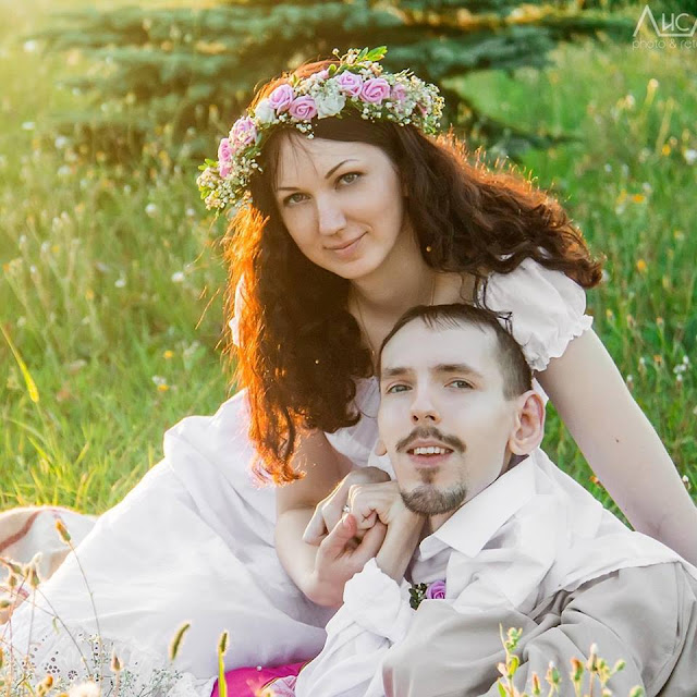 Inspiring True Love Story! Beautiful Woman Falls in Love with a Handicapped Man Who Is 3000 km Away!