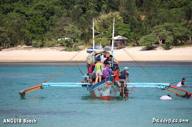 boat ride at Anguib Beach, Sta. Ana Cagayan