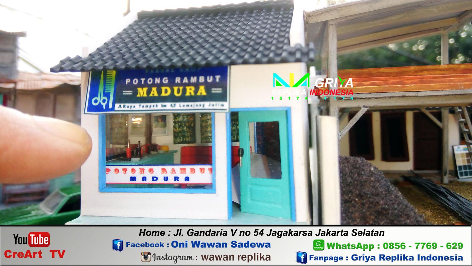 Jasa Maket & Miniatur Murah: Maket Miniatur Toko Material ...