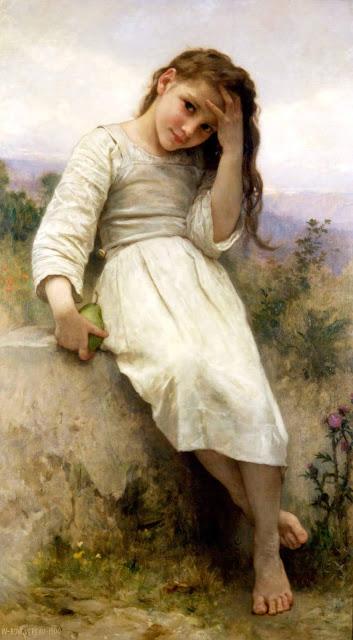 Адольф Вильям Бугро - Маленькая воришка (1900)