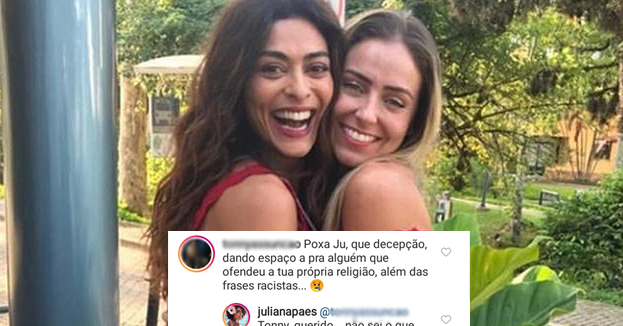 Juliana Paes e Paula do BBB
