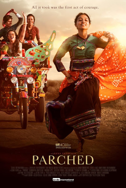 Poster Of (18+) Parched 2016 UnCensored 720p Hindi HDRip Full Movie Download
