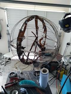 Ed Hill Metal Art - Sphere