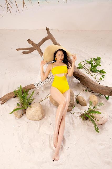 Ảnh người đẹp Việt Nam mặc bikini: Người đẹp Nguyễn Hoàng Bảo Châu mặc bikini 3