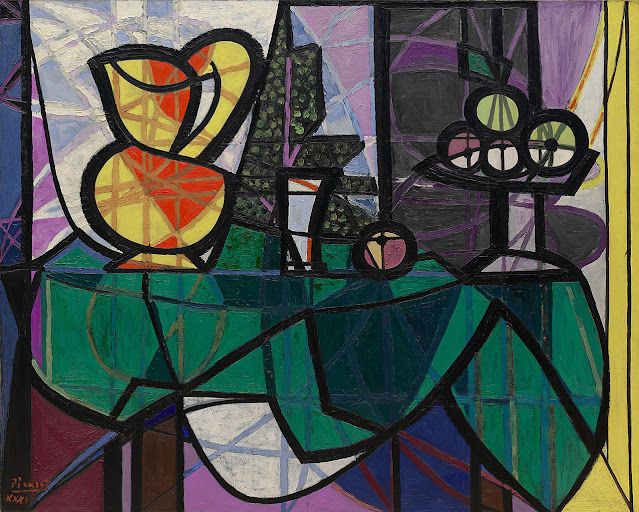 Pitcher and Bowl of Fruit. Picasso