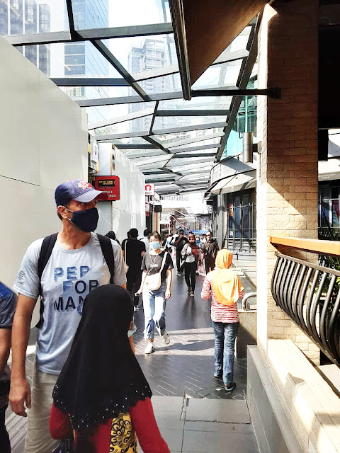 Lalauan Pejalan Kaki Bukit Bintang, Untuk Ke Pavillion Dan Jalan Alor