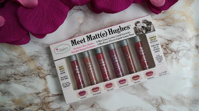 The Balm Meet Matte Hughes Lipstick