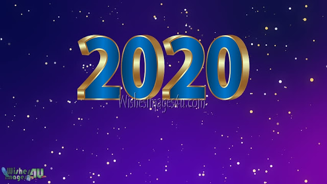 Happy New Year 2020 Full HD Desktop Sparkling Wallpapers