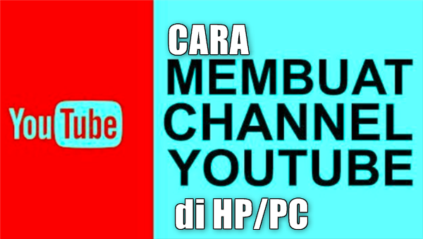 cara membuat Youtube channel