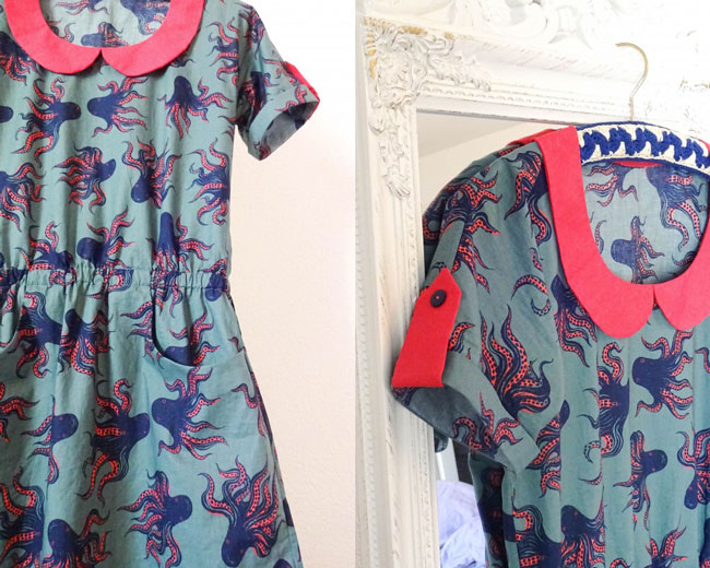 Bettine dress sewing pattern - Tilly and the Buttons