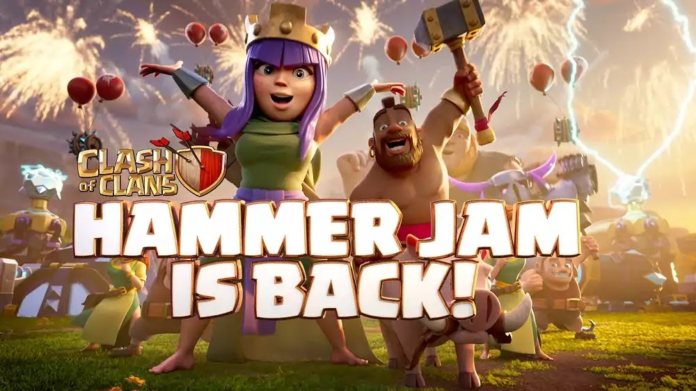 Clash of Clans Hammer Jam 2021