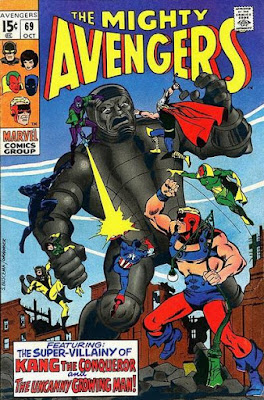 Avengers #69, the Growing Man