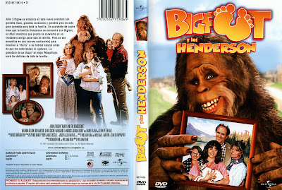 Carátula dvd: Bigfoot y los Henderson (1987)
