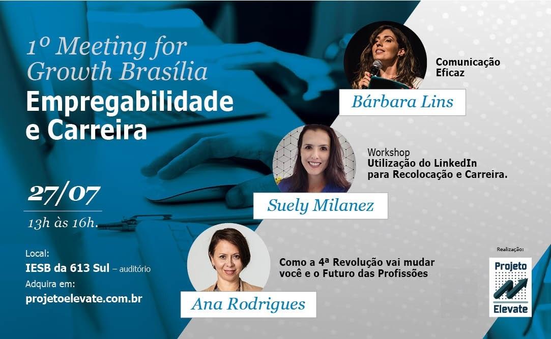 1º MEETING FOR GROWTH BRASÍLIA