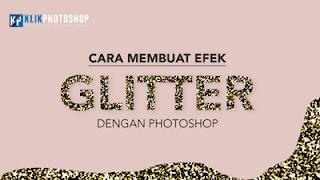cara membuat efek glitter