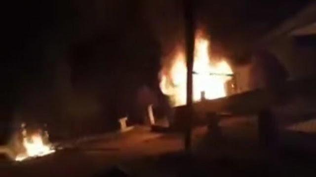 Posko COVID-19 dan Kantor Desa di Merangin Dibakar Warga yang Geram Pembagian BLT Tak Tepat Sasaran