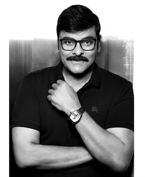 Megastar Chiranjeevi New Look