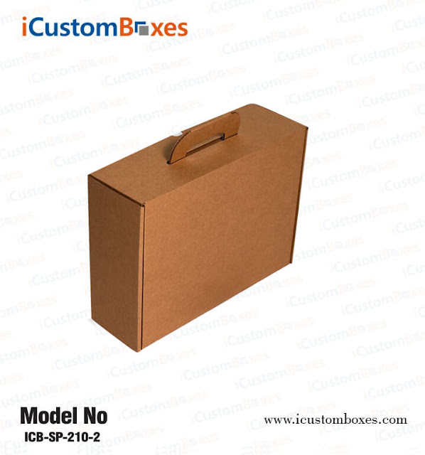 Cardboard Box With Handles