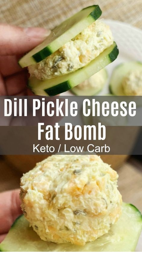 Dill Pickle Fat Bomb - Keto / Low Carb