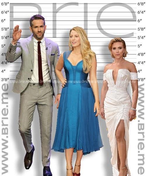 Blake Lively with Ryan Reynolds and Scarlett Johansson
