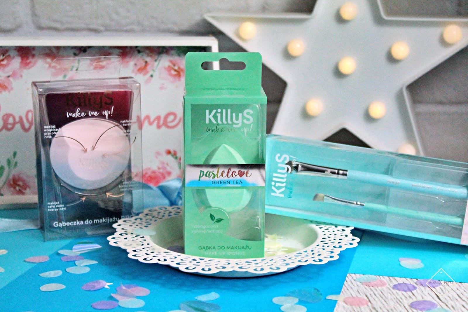 KillyS Make Me Up - Pastelove - pędzle i gąbki do makijażu