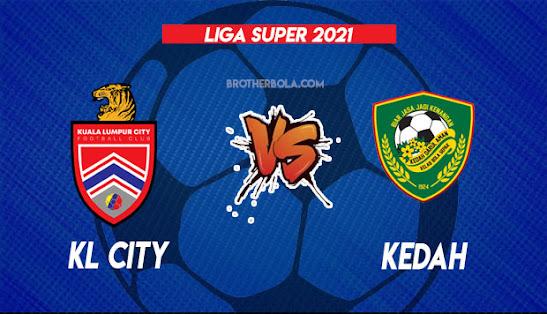 Live Streaming KL City vs Kedah 4.9.2021