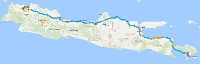 rute jakarta denpasar, touring jakarta bali, rute jakarta bali, kasarunk.com, touring