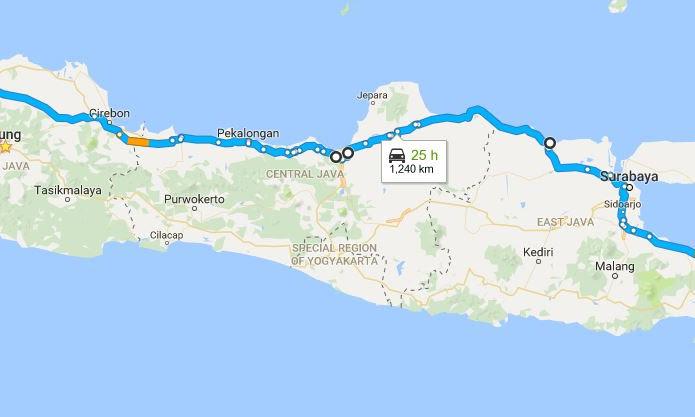 Goes To Denpasar, Sembilan Hari Lampaui 2900 KM