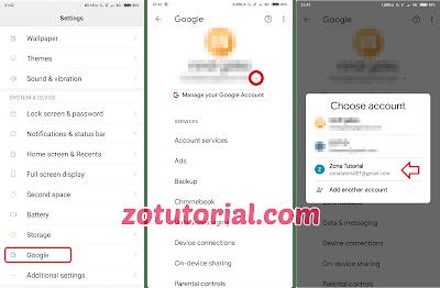 Tutorial Hapus Akun Gmail Google Secara Permanen di Android - 1