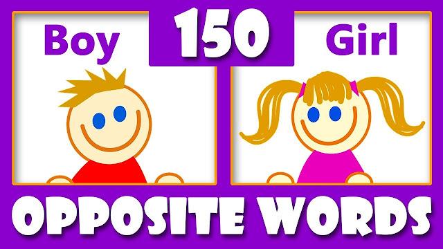 100 शब्दों के विलोम शब्द | Opposite words in hindi